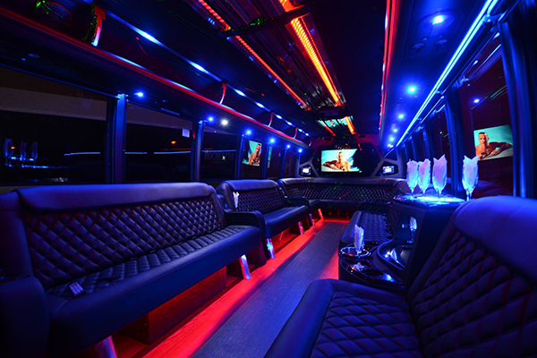 40 Person Party Bus Rental Indianapolis