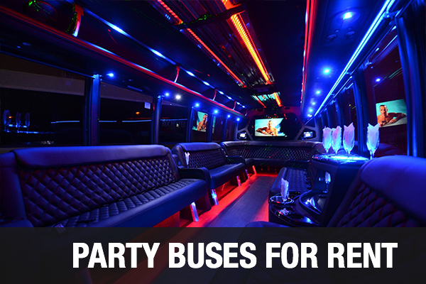 Party Buses For Rent Indianapolis